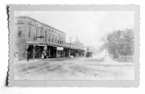 Looking North on Magnolia at Silver Springs Blvd. (1890)
